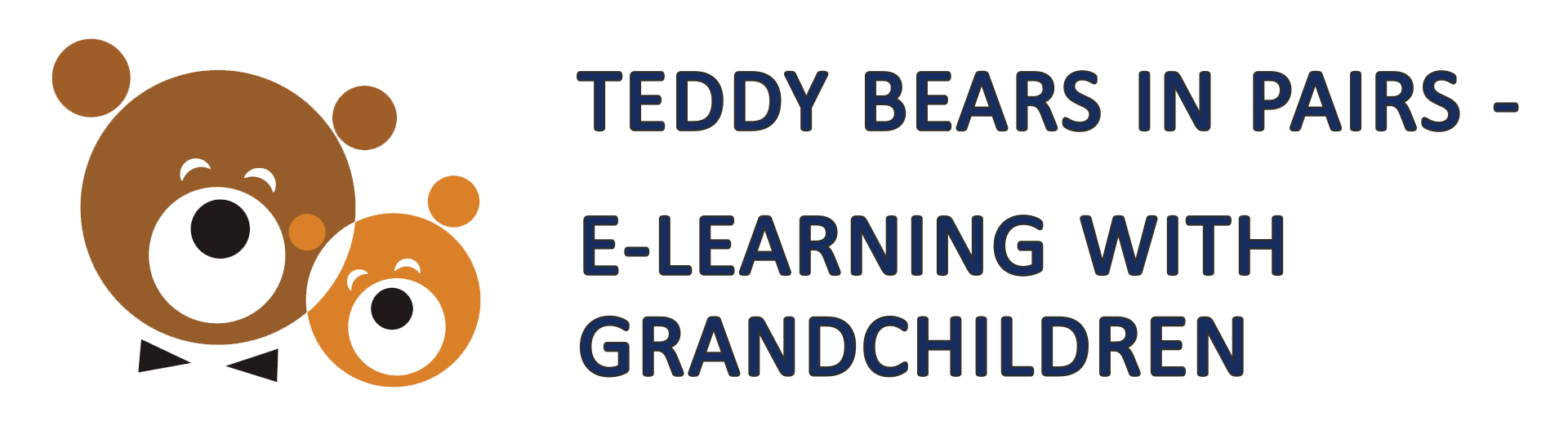 Teddy Bears In Pairs - E-Learning With Grandchildren